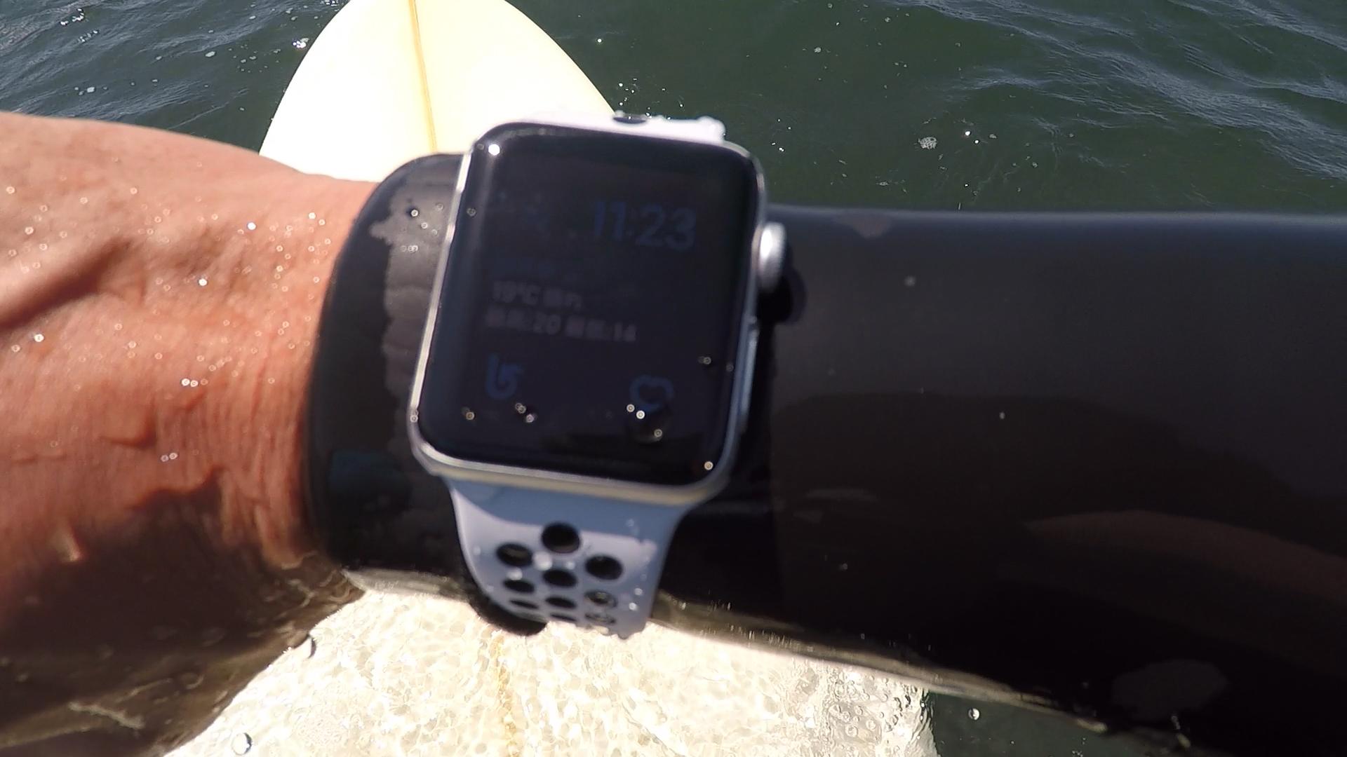 アップル ウォッチ サーフィン